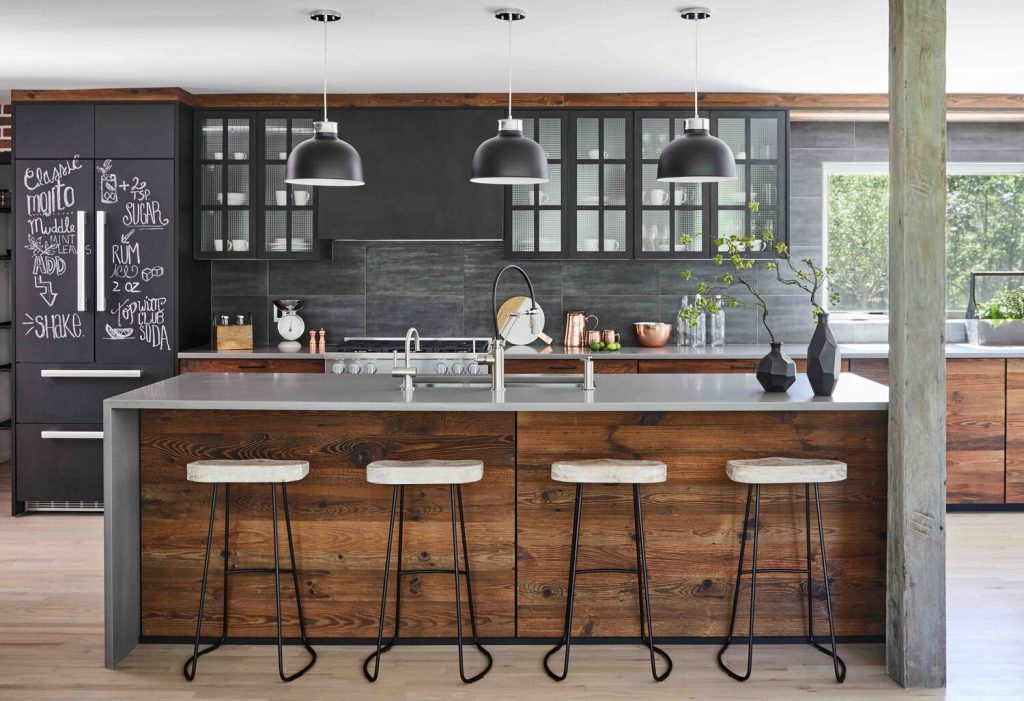 Kitchen Island Modern Farmhouse Kitchen