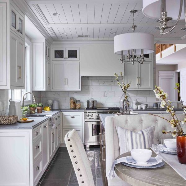kitchen island light fixture & ceiling spots