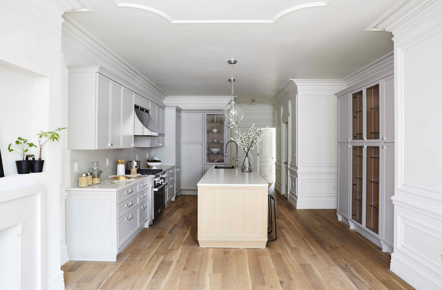 Brooklyn brownstone kitchen