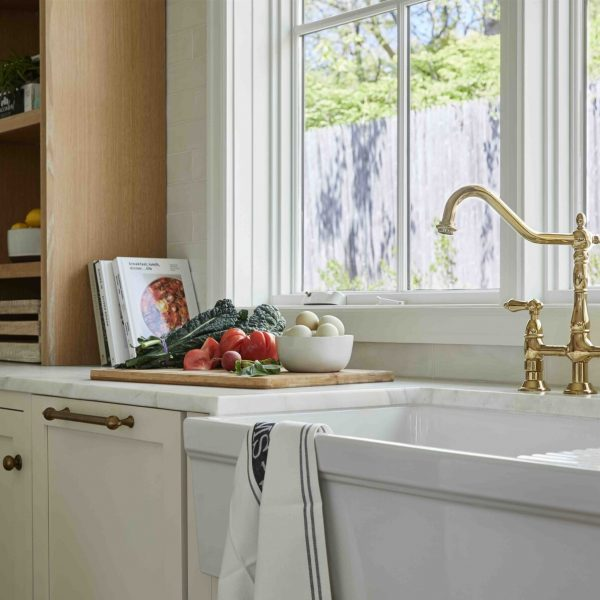 Kichen counter & sink French Country Home