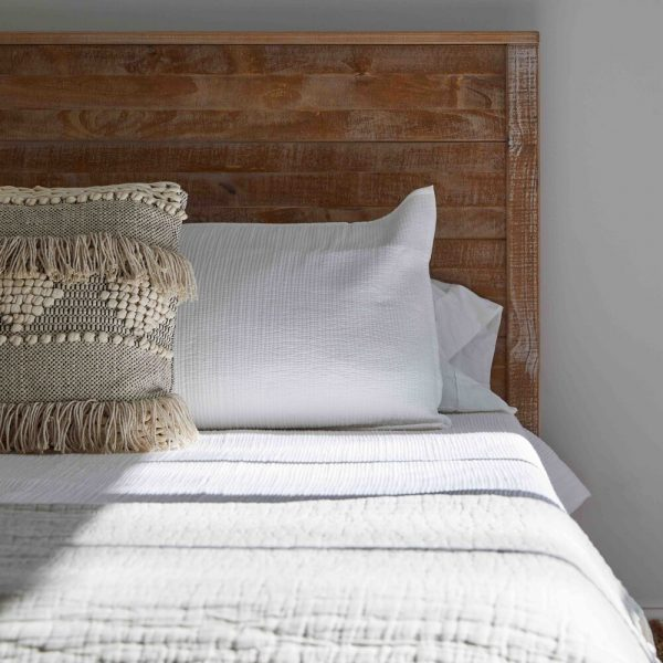 French Country Home by Cabinet Plant - headboard detail