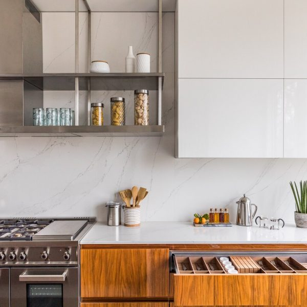 silverware drawer Noyack Modern Waterfront Kitchen bu Cabinet Plant