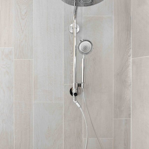 waterfall shower Brick New Jersey first floor by Cabinet Plant