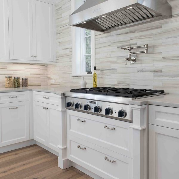 Recessed spice racks range and hood Brick New Jersey First Floor