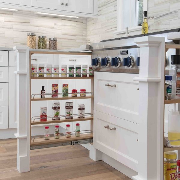 Pullout spice racks Brick New Jersey First Floor