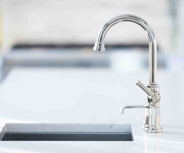 kitchen faucet Brick New Jersey first floor by Cabinet Plant