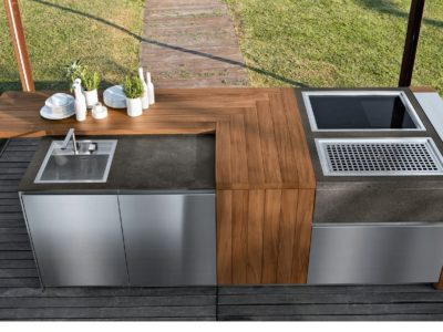 Aster Cucine Outoor Prep Island